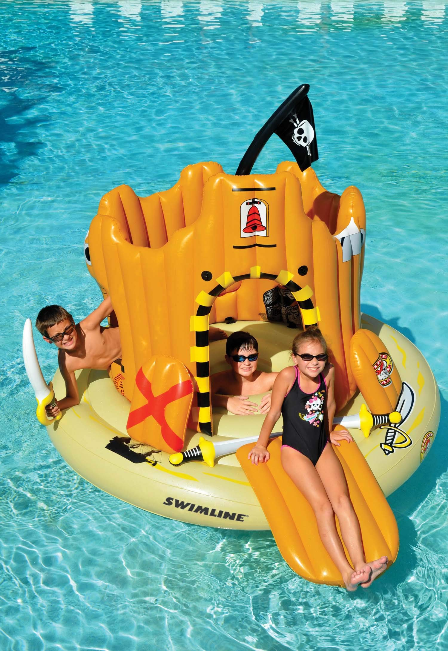 Swimline Pirate Island Pool Float by Swimline (Image #3)