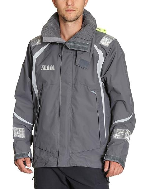 132fe1d6eb Slam Giacca di Vela Uomo Force 3, Grigio, M: Amazon.it: Abbigliamento