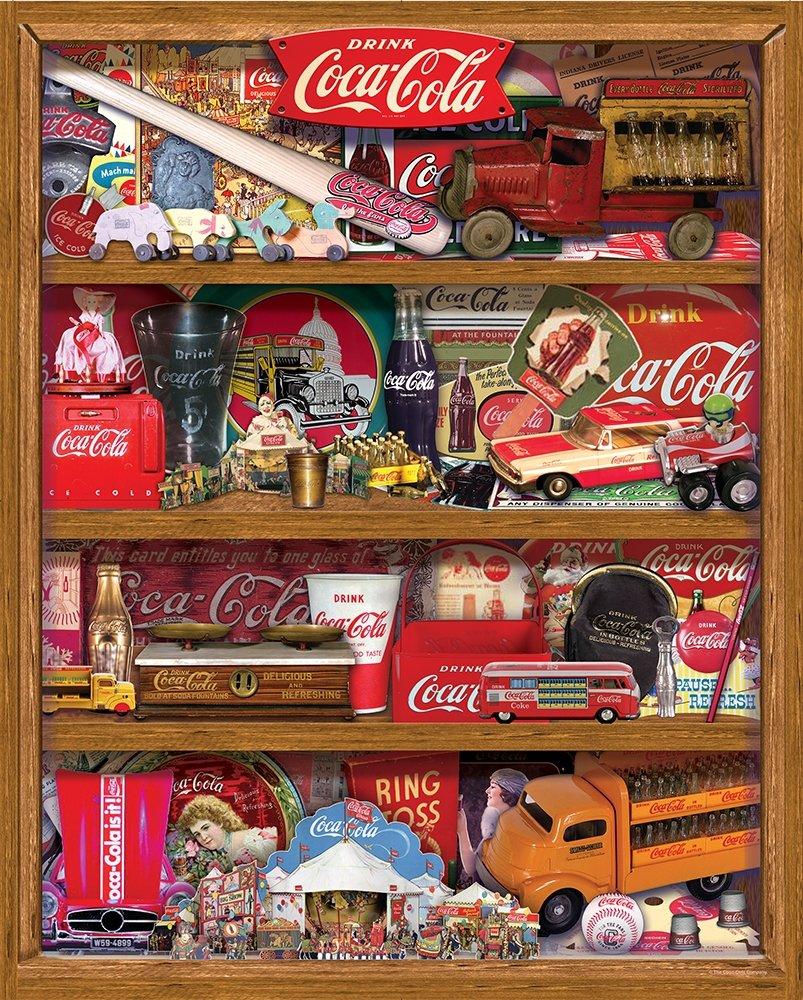 Springbok Puzzles Coca-Cola A Collection Jigsaw Puzzle (500 Piece)