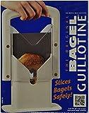 Bagel Guillotine Slicer Stainless Steel Biter Kitchen Cutter Knife Home Bread