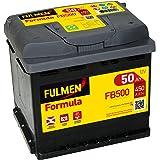 Fulmen - Batterie voiture FB500 12V 50Ah 450A - Batterie(s) - 552400047 ; C