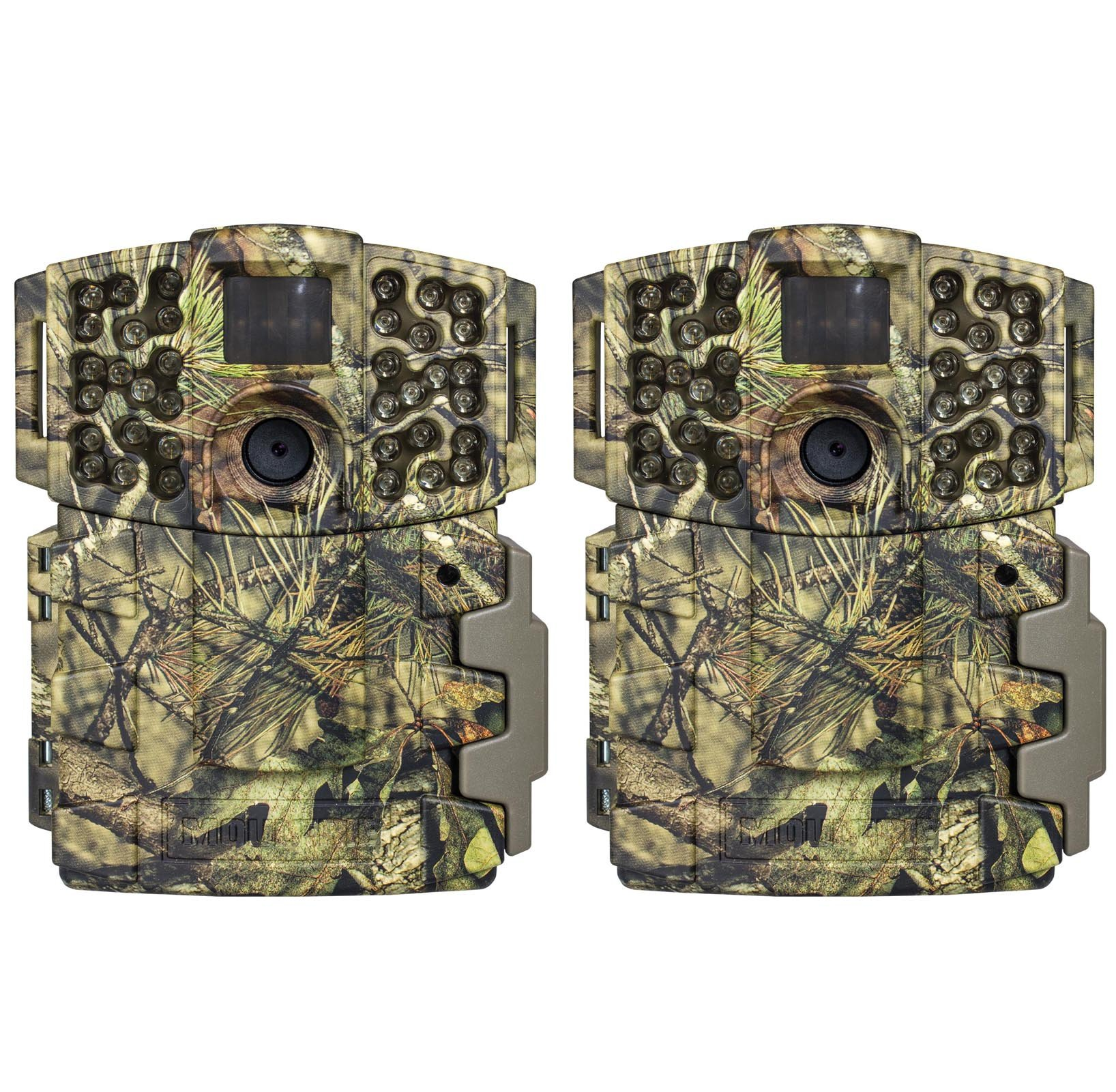Moultrie (2) No Glow Invisible 20MP Mini 999i Infrared Game Cameras | M-999i
