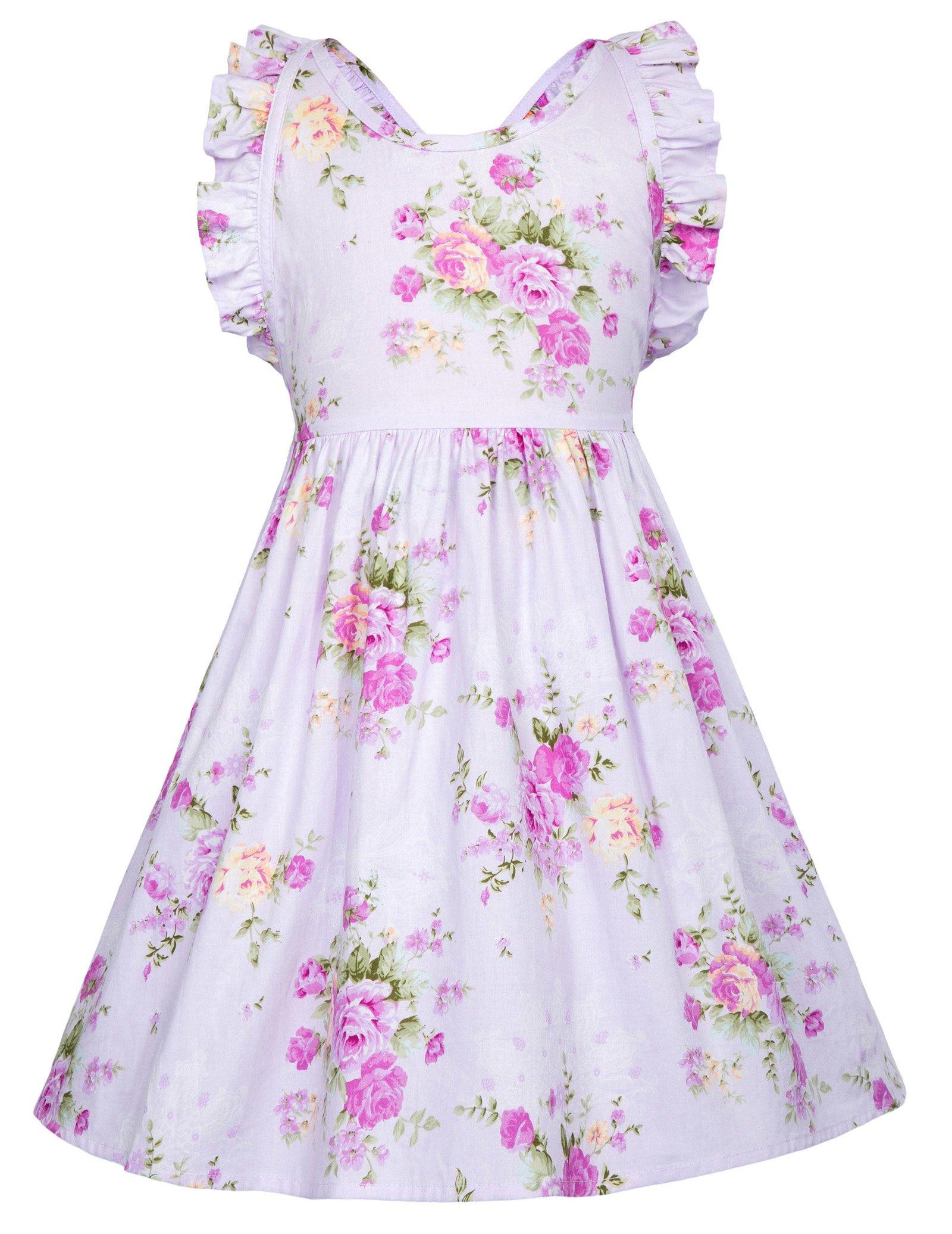 Party Pageant Unique Design Dresses for Little Girls 8-9yrs CL601-1