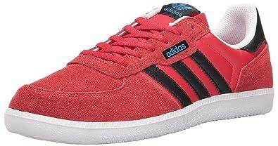 adidas Originals Men's Shoes | Leonero Fashion Sneakers, Scarlet/Black/White,  (