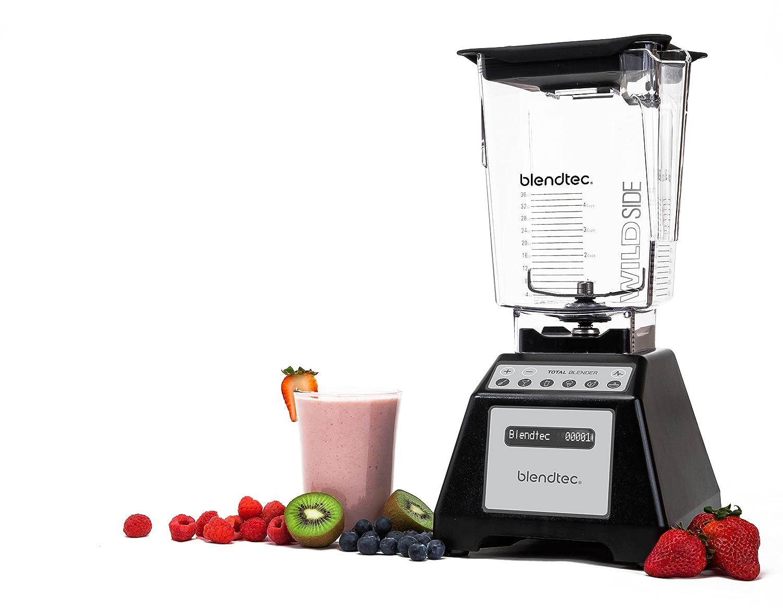 Amazon.com: Blendtec Total Blender, WildSide Jar - Black: Electric  Countertop Blenders: Kitchen & Dining