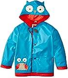 Skip Hop Zoo Little Kid and Toddler Hooded Rain Jacket, Large, Multi Otis Owl