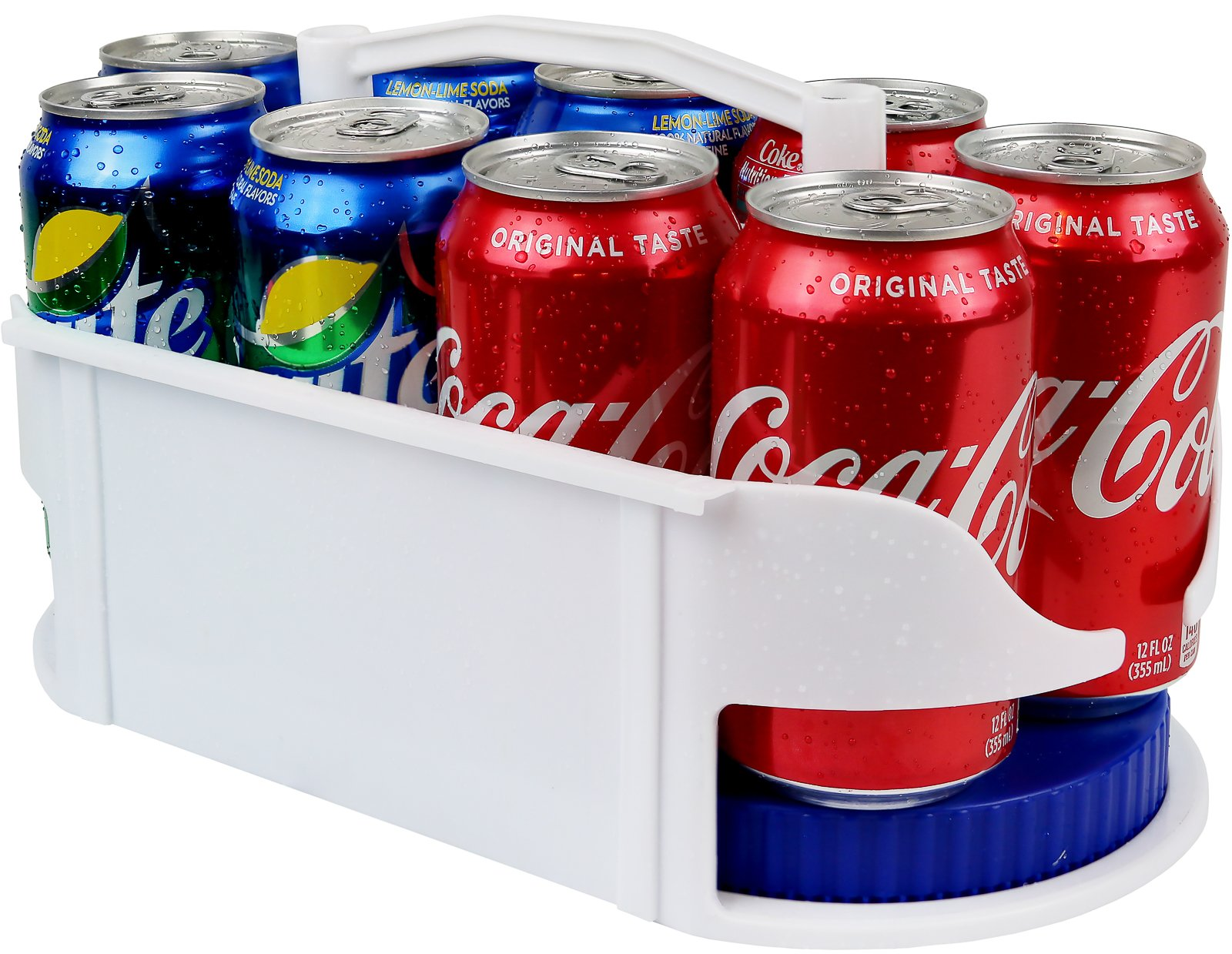 Galashield Soda Can Holder Dispenser and Organizer for Refrigerator and Cabinet