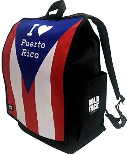 I Love Puerto Rico Backpack Complete Backpack