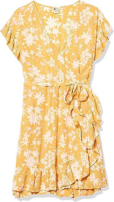 BNWT BILLABONG LADIES STARGAZER WRAP MINI DRESS SIZE 10 RRP $89.99