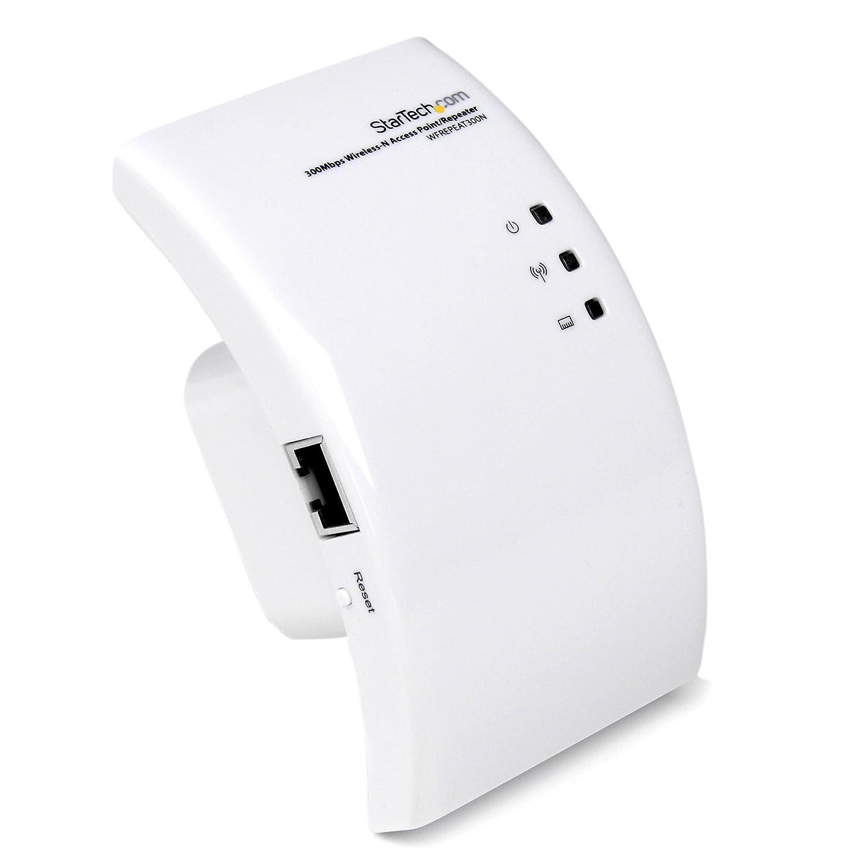 StarTech Outdoor 300 Mbps 2T2R Wireless-N Access Point-5Ghz 802.11A/N WiFi AP-Pole/Wall-Mountable Long-Range PoE-Powered AP STARTECH.COM R300WN22OP5