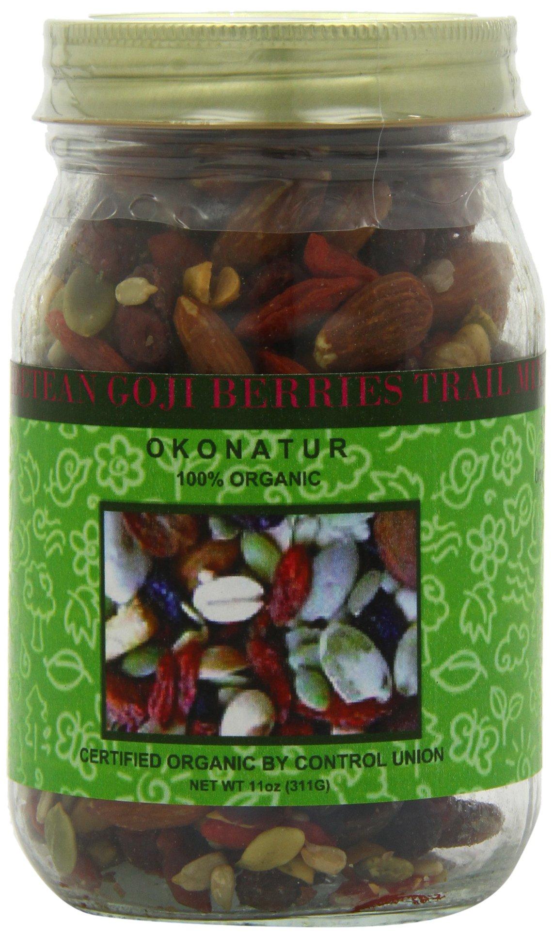 Okonatur Super Antioxidant Organic Trail Mix, 11-Ounce by OKONATUR