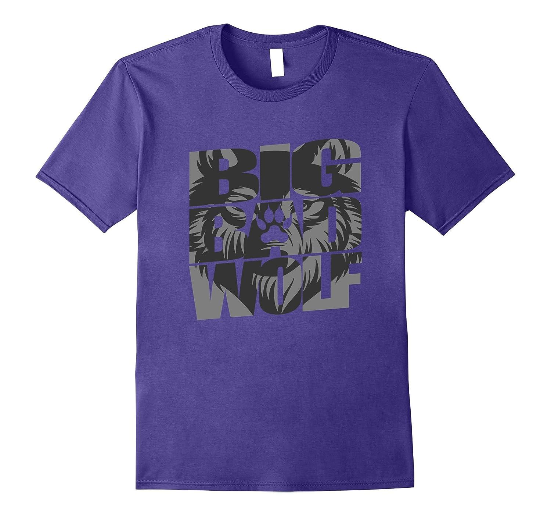 Big Bad Wolf Funny T-Shirt-FL