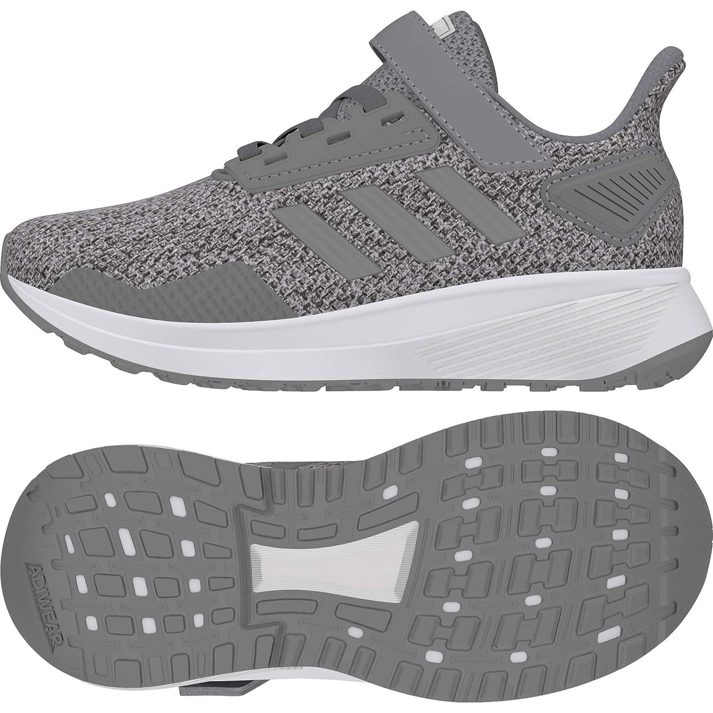 Adidas Unisex-Kinder Duramo 9 C Fitnessschuhe Weiß Schwarz