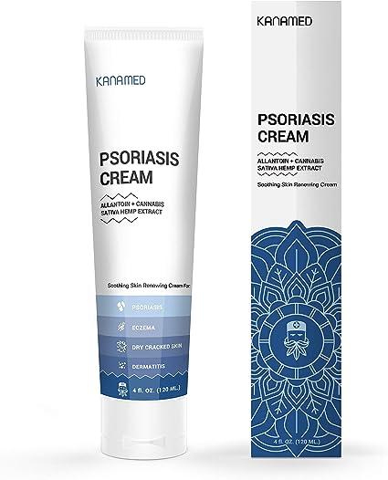 Amazon Com Kanamed Psoriasis Cream Extra Strength With Hemp