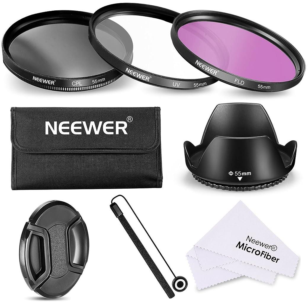 Neewer Filtro de 55 mm de la Lente Kit de Accesorios
