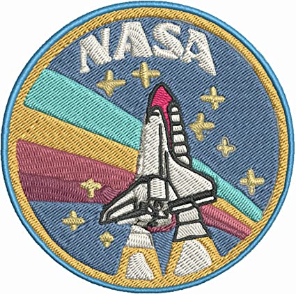 NASA Space Astronaut UFO Aliens Embroidered Iron On Sew On patches Mix n Match