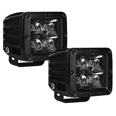 Rigid Industries 20221BLK D-Series Midnight Edition Black Spot Optic, Pair: Automotive