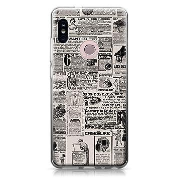 CASEiLIKE® Funda Redmi Note 5 Pro, Carcasa Xiaomi Redmi Note 5 Pro, Periódico Vintage Publicidad 4818, TPU Gel Silicone Protectora Cover