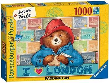 19696 Ravensburger Paddington Bear Jigsaw 1000pc Puzzle Adult Children 12+