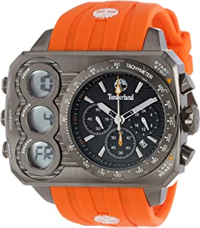 Timberland Mens TBL_13673JSU_02S Ht3 Digital Chronograph 3 Hands Date Watch