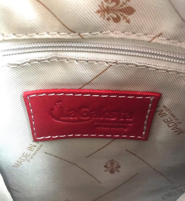 LaGaksta Ashley Very Small Italian Soft Leather Shoulder Crossbody Bag