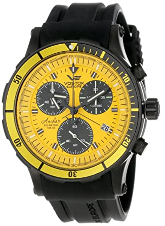 Vostok-Europe Mens 6S30/5104185 Tritium Tube Illumination Watch