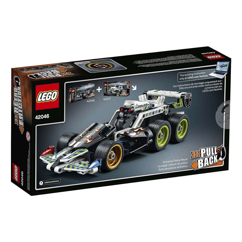Amazon Lego Technic Getaway Racer 42046 Building Kit Toys Games
