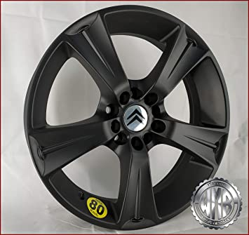 SP155112 1 Llanta de aleación 17 de aleación para rueda de repuesto Citroen C4: Amazon.es: Coche y moto