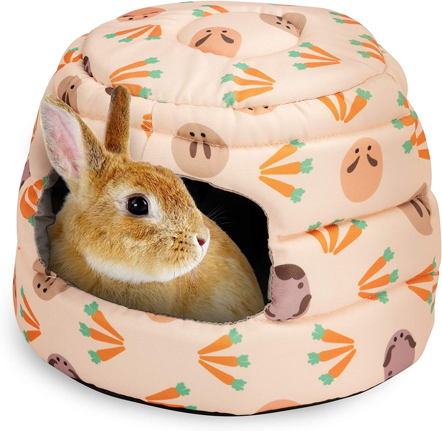 Niteangel Guinea Pig Bed Big Hide-Out for Rabbit Ferret Chinchilla Bunny and Other Small Animals