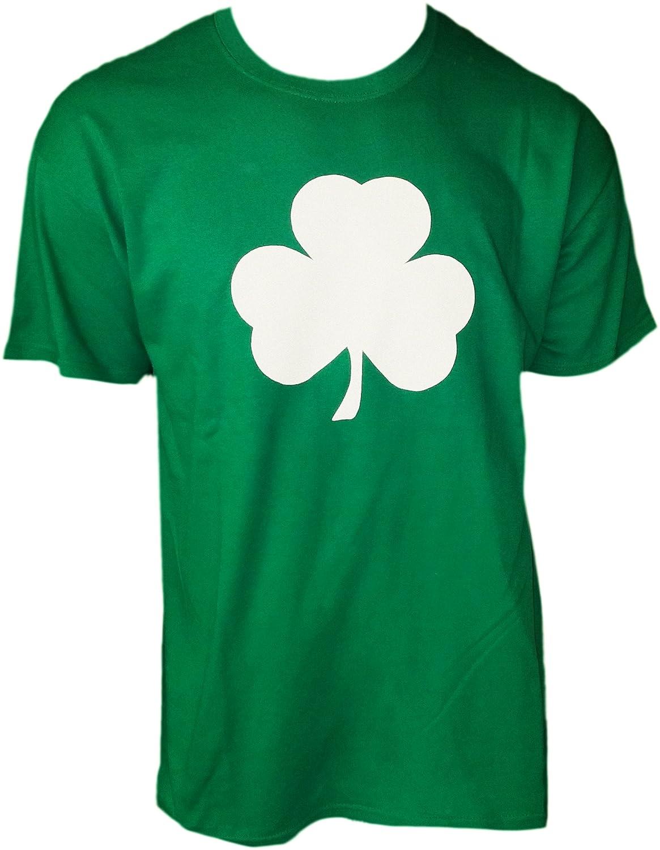 amazon com usa screen printed green irish shamrock t shirt st