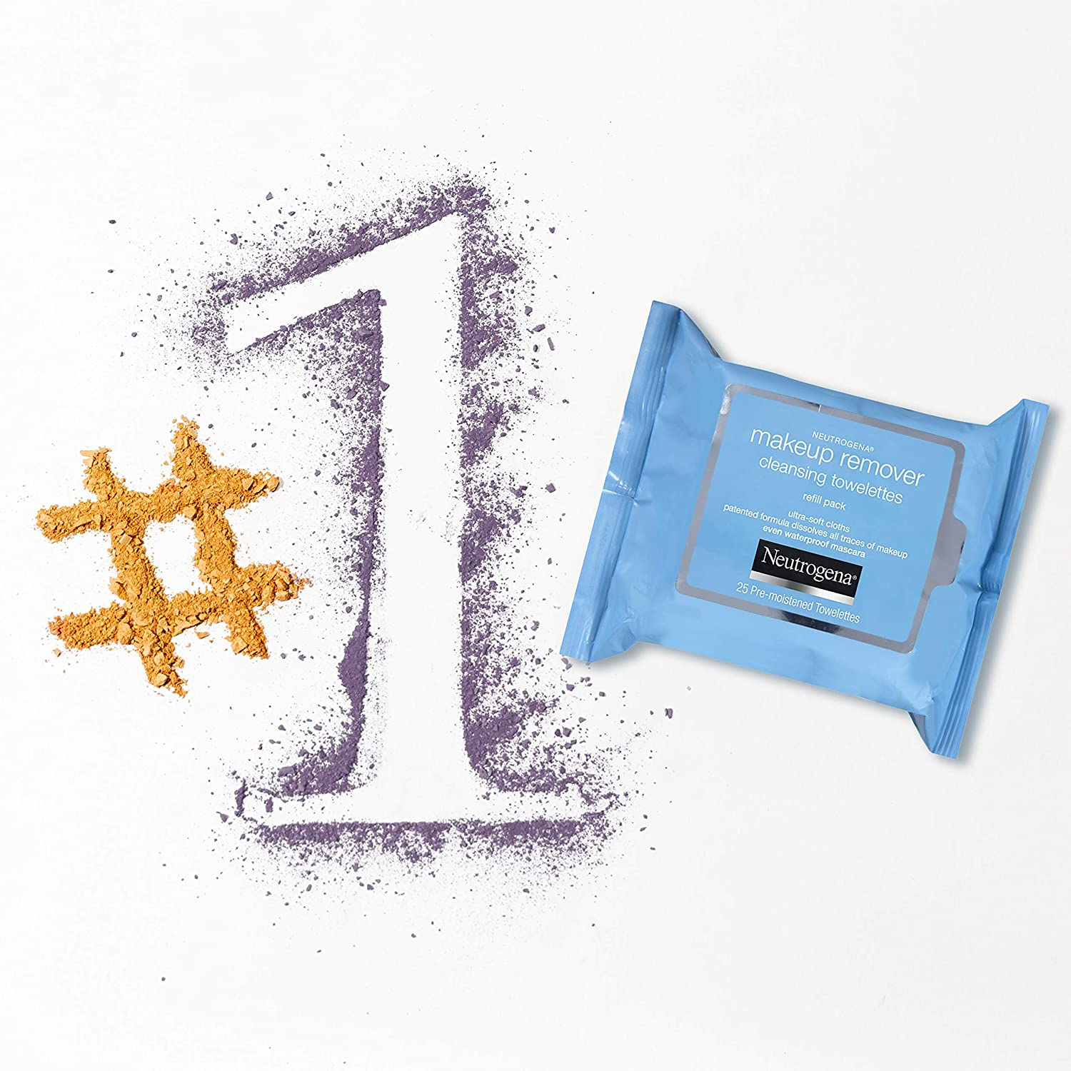 Neutrogena Day Night Wipes with Makeup Remover Face Cleansing Towelettes