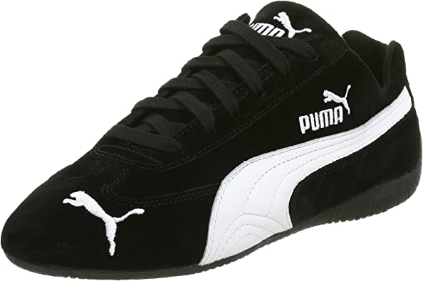 Amazon.com | PUMA Men's Speed Cat SD, Black/White | Fashion ...