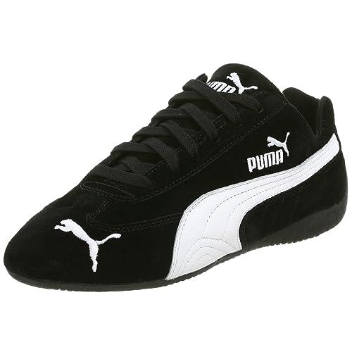 Buy PUMA Men's Speed Cat SD US Sneaker, Black/White, 5.5 M ...