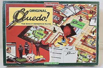 Waddingtons Cluedo - The Great Derective Game: Amazon.es: Juguetes y juegos