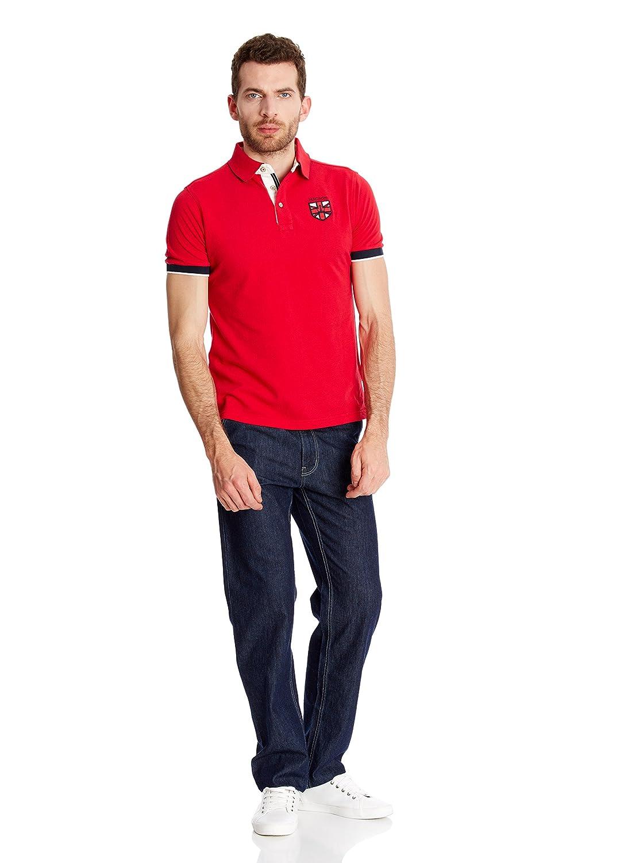 Macson Polo Rojo XL: Amazon.es: Ropa y accesorios