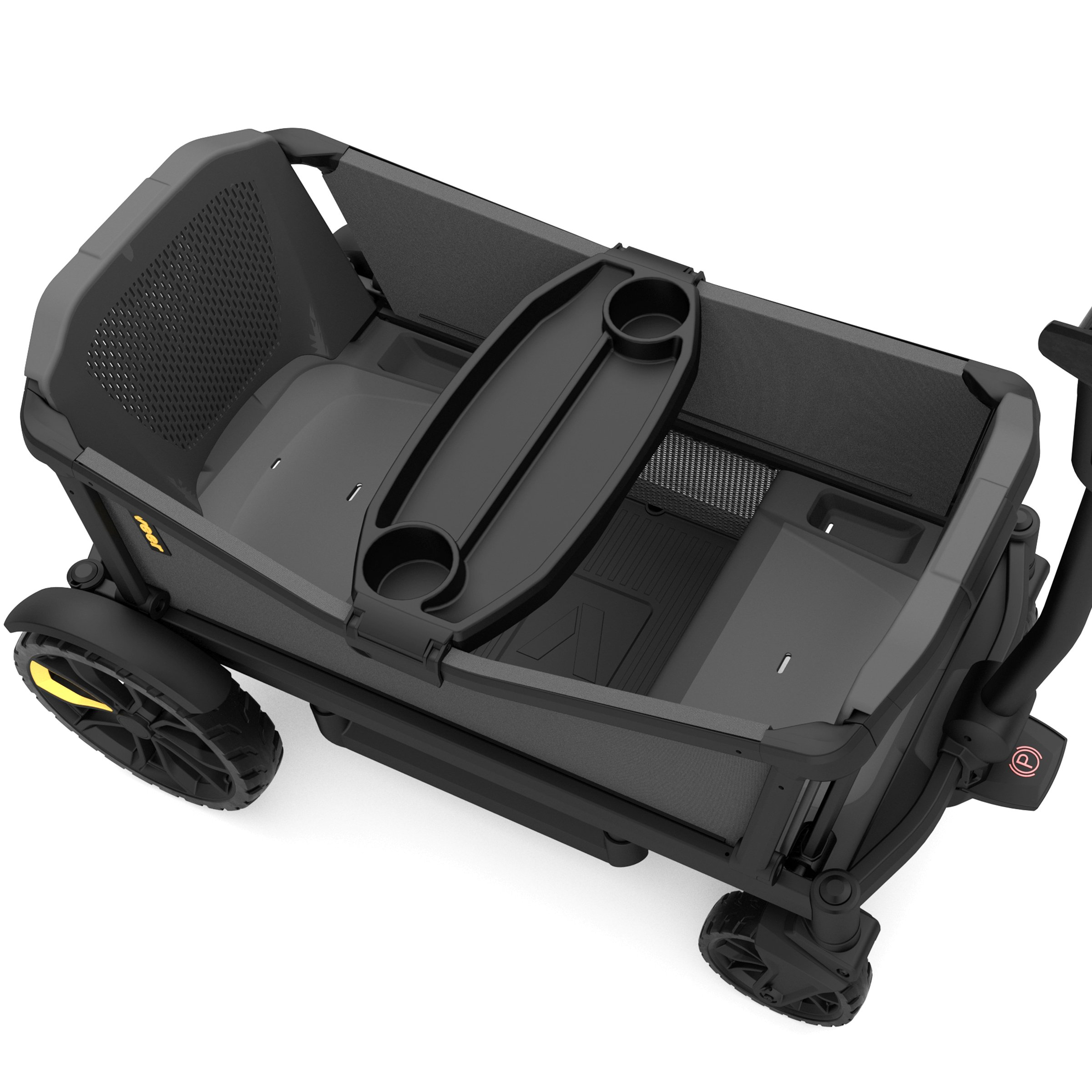 Veer Cruiser with Retractable Canopy | Next Generation Premium Stroller Wagon Hybrid by Veer (Image #4)