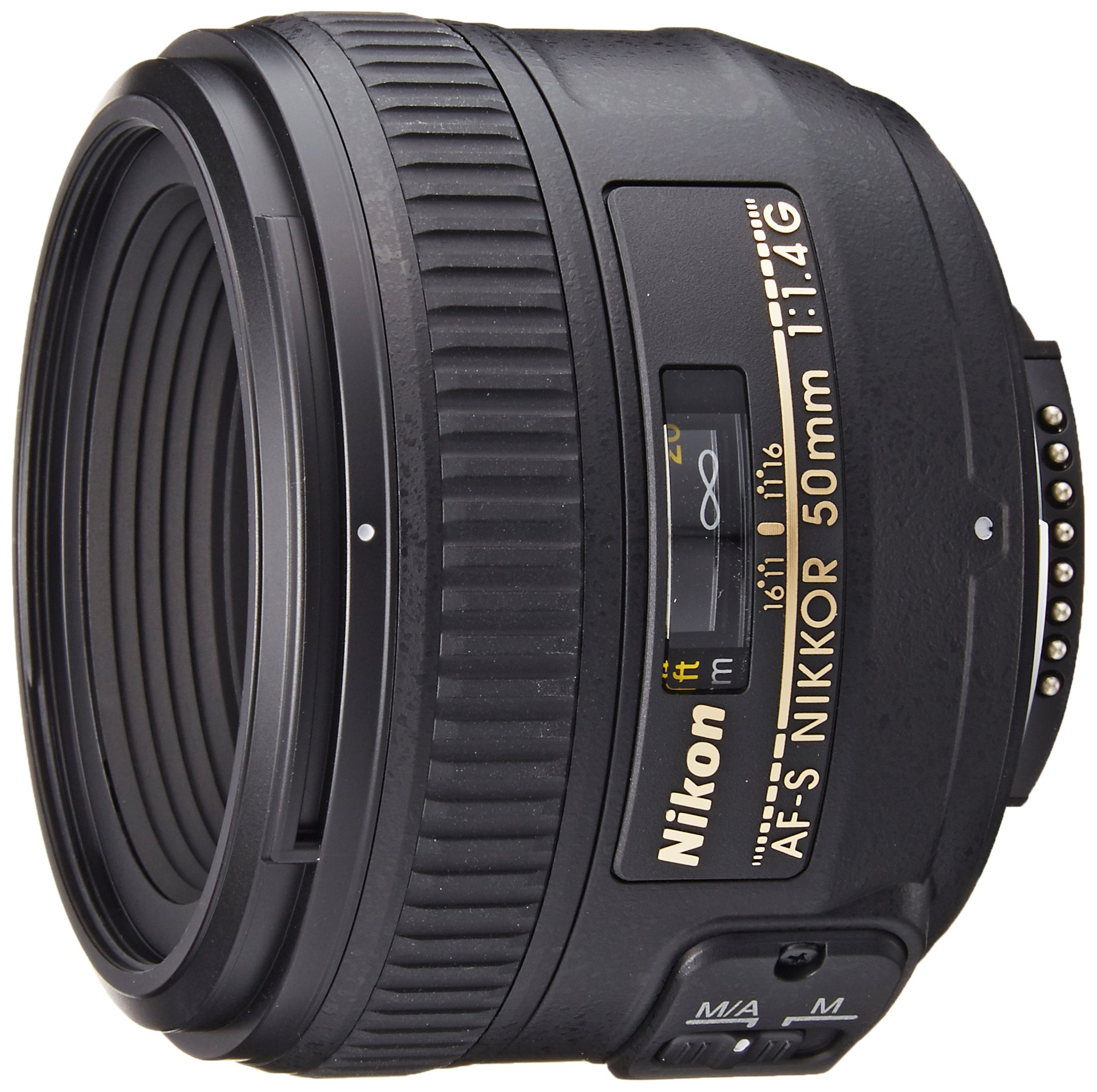 Nikon AF-S FX NIKKOR 50mm f/1.4G Lens with Auto Focus for Nikon DSLR Cameras by Nikon