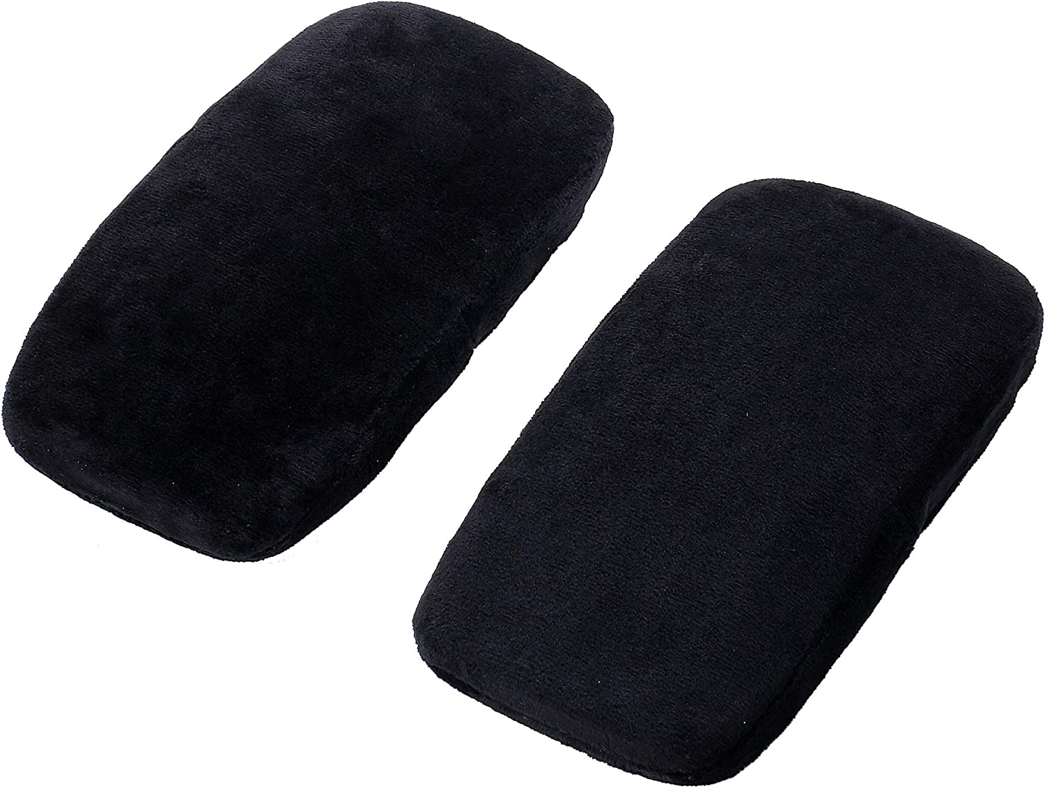 Ergonomic Memory Foam Office Chair Armrest Pads,Gaming Chairs Armrest Covers, Relieve Forearm & Elbow Pain, Computer Desk Chair Arm Pad & Comfy Elbow Cushion(Set of 2)