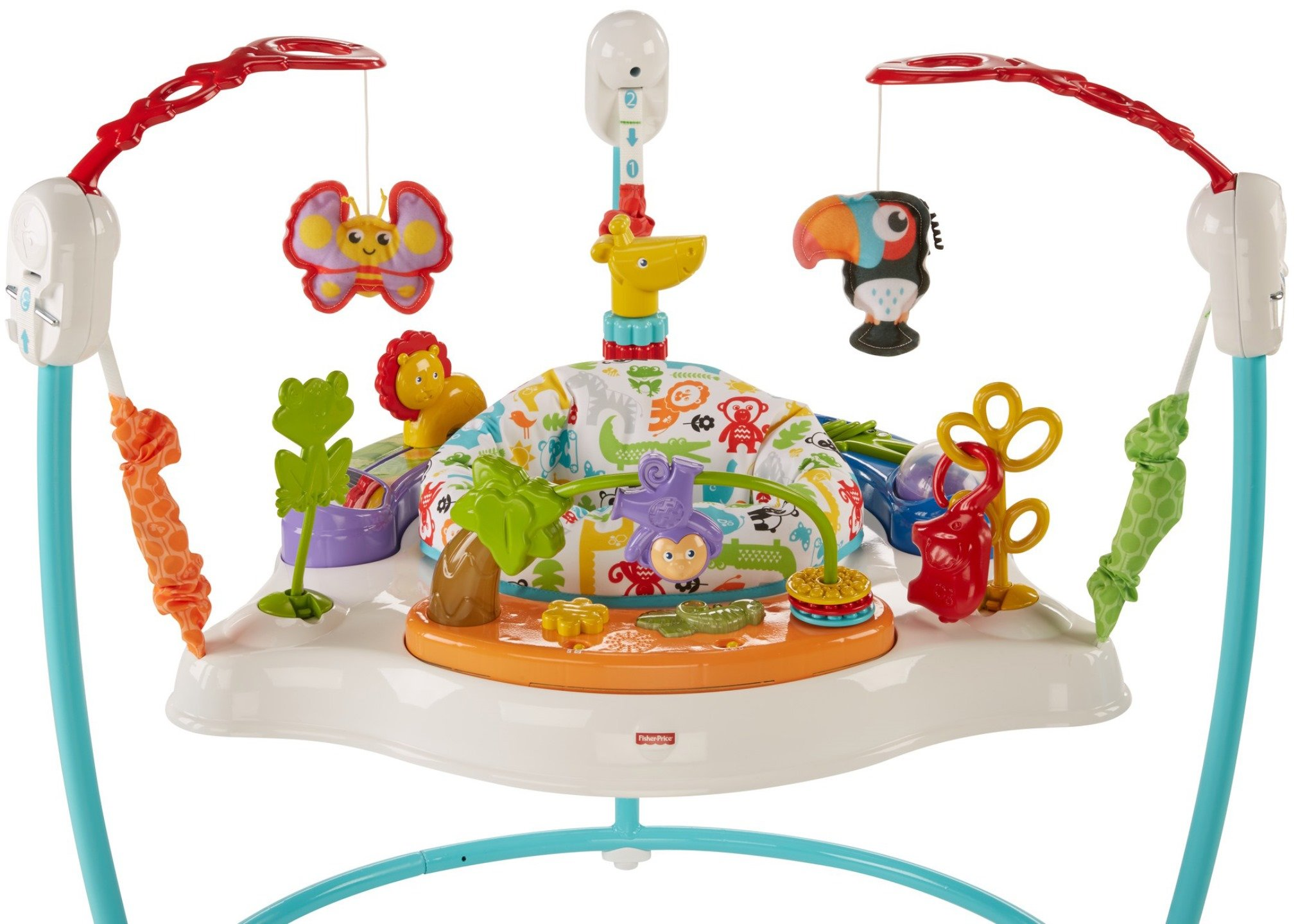 Fisher-Price Animal Activity Jumperoo, Blue by Fisher-Price (Image #5)
