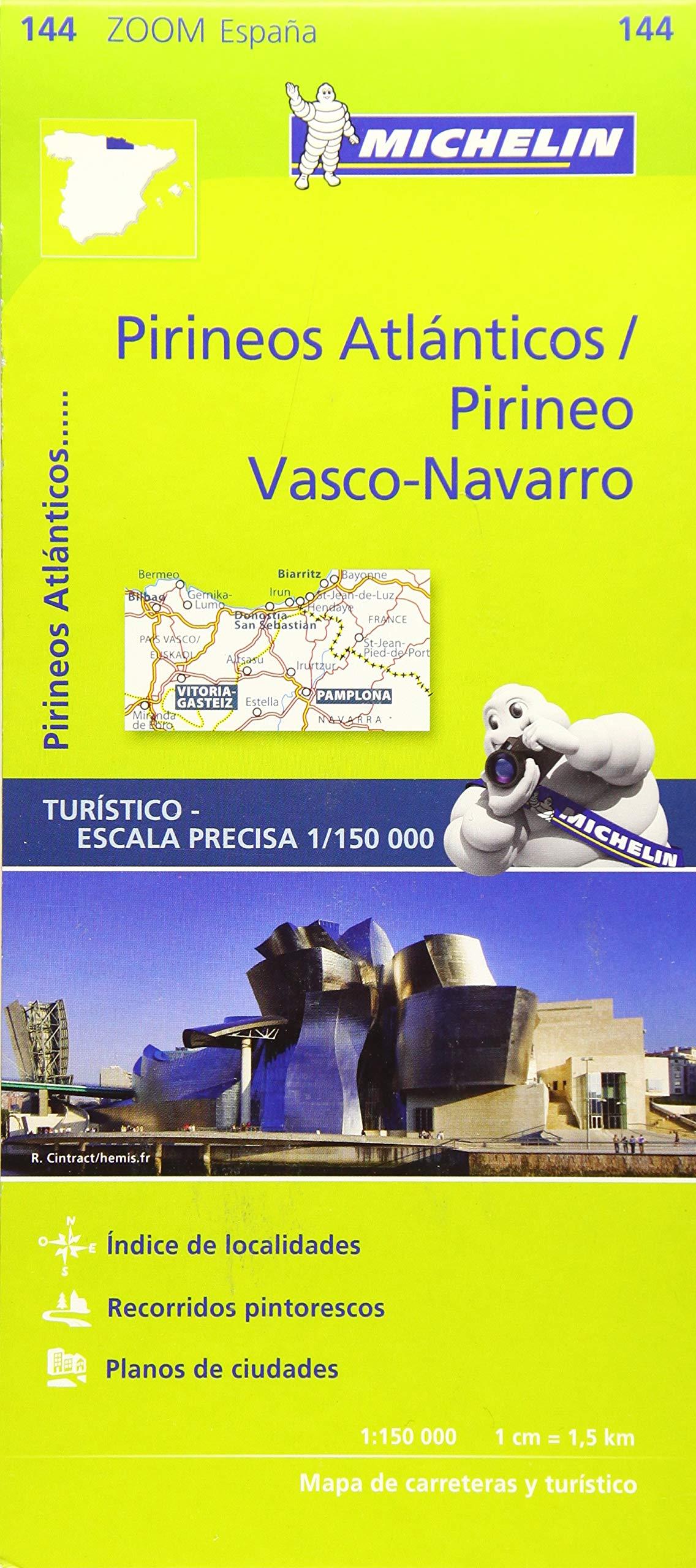 Pirineos Atlanticos Michelin Zoom Maps, scale 1/150 000: Amazon.es: Vv.Aa, Vv.Aa: Libros