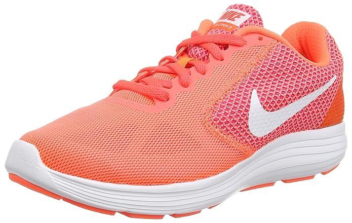 Revolution 3 Running Shoe, Hyper Orange