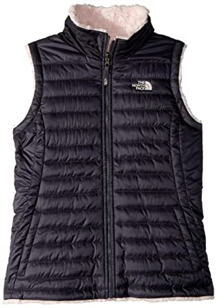 8783699c9 The North Face Kids Girl's Reversible Mossbud Swirl Vest (Little Kids/Big  Kids)