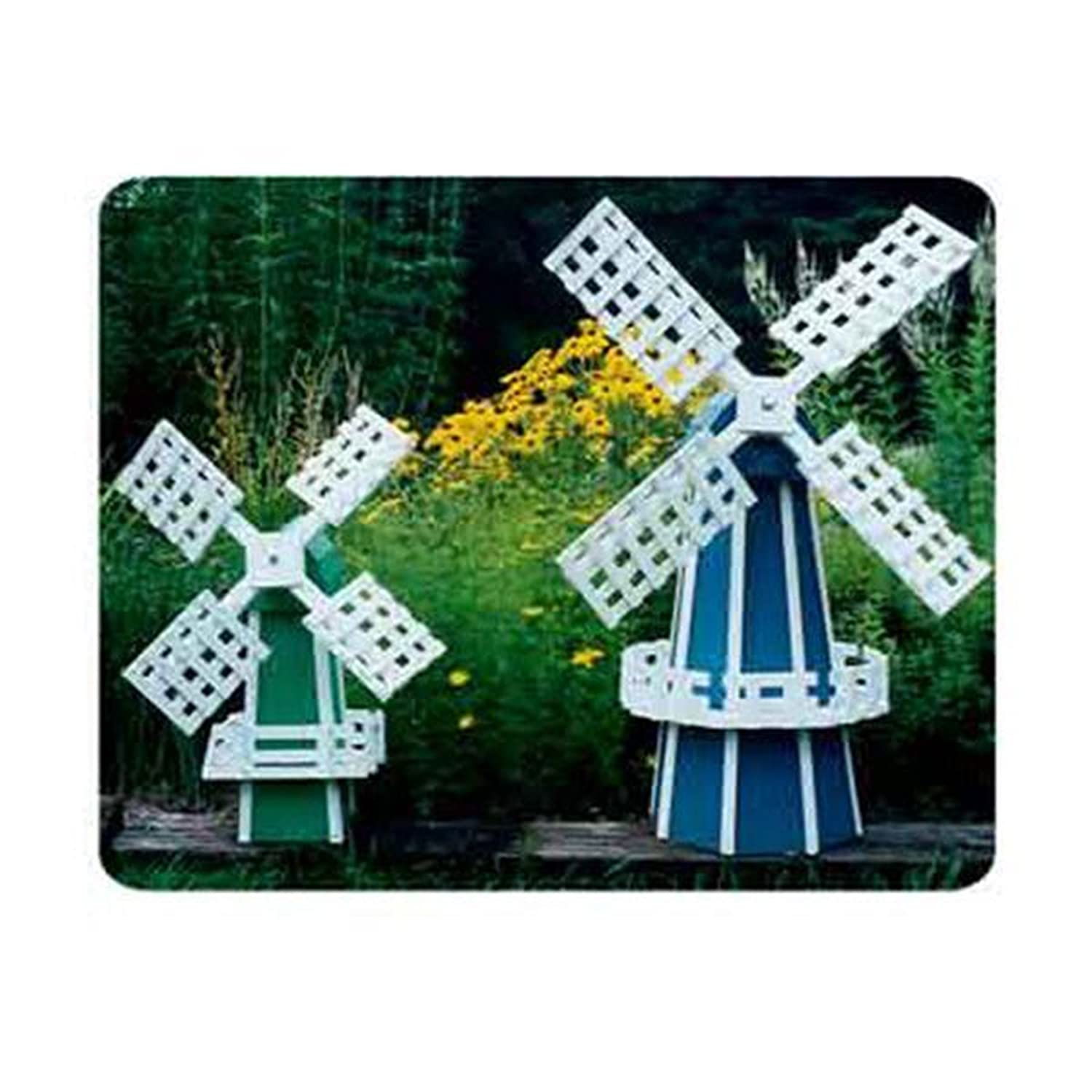 Woodworking Project Paper Plan to Build Garden Windmill 2 Pack ...