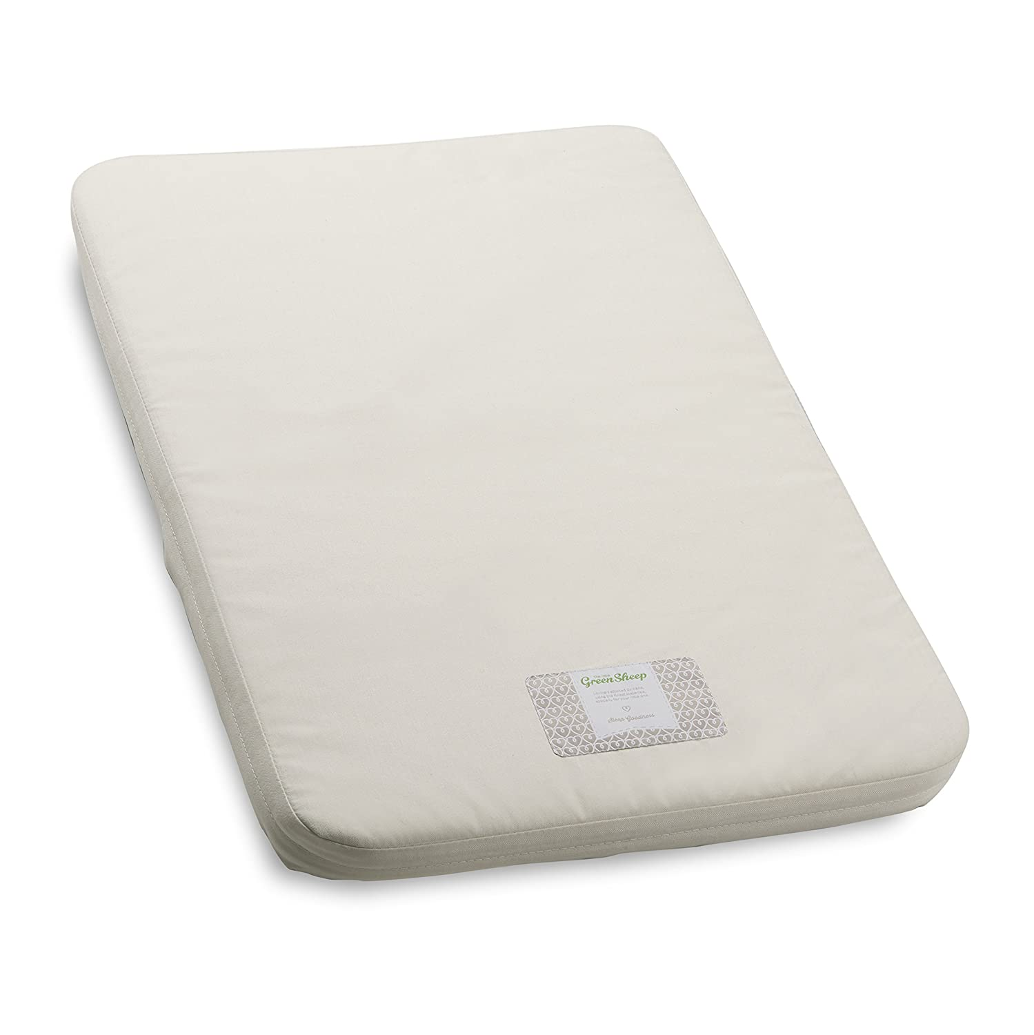 The Little Green Sheep Natural Crib Mattress (to fit Chicco Next2Me) M002K