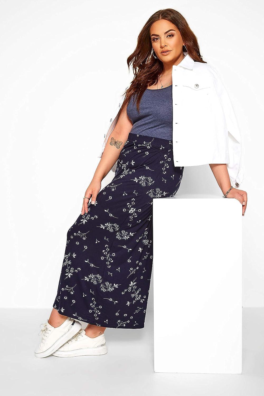 Yours Clothing Womens Plus Size Maxi Tube Skirt