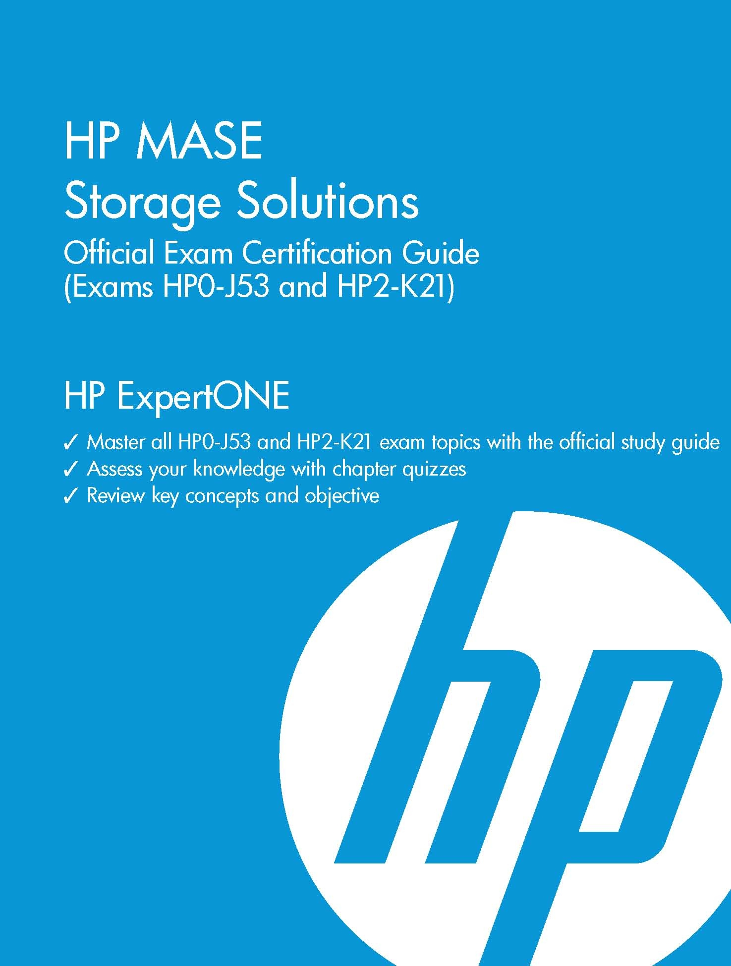 Hp Mase Storage Solutions Official Exam Certification Guide Exams