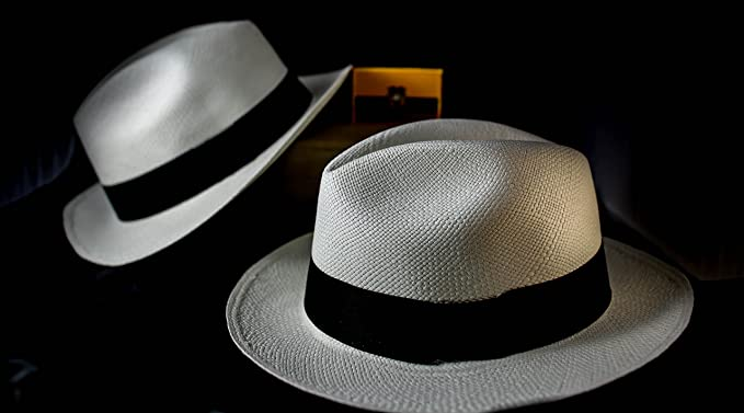 Image Unavailable. Image not available for. Color  Genuine Montecristi  Ecuador Panama Hat ... ff4fa83daca