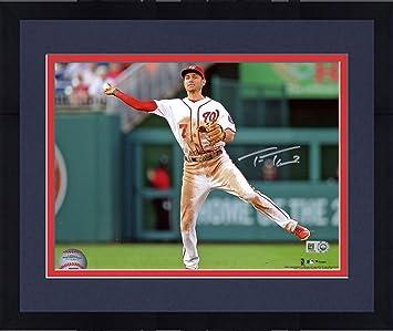 d5bad1b30 Framed Trea Turner Washington Nationals Autographed 8
