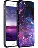 iPhone 6S Case, iPhone 6S Space Case, BENTOBEN Nebula Space Universe Print Ultra Slim 2 in 1 Hybrid Hard PC Flexible TPU Anti Slip Drop Proof Protective Case for iPhone 6 / 6S 4.7 Inch - Purple Nebula