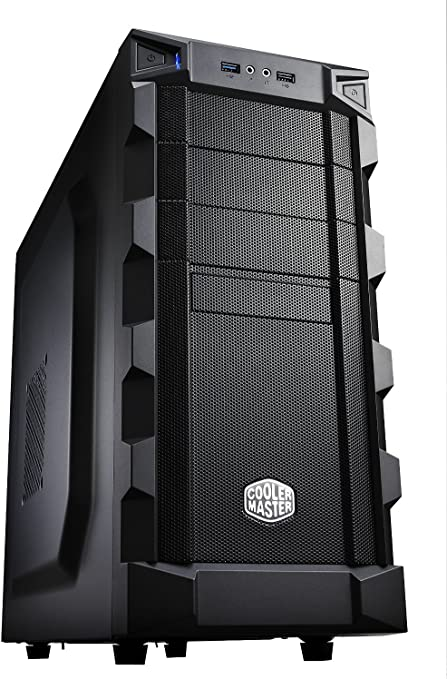 Cooler Master RC-K280 - Caja para Ordenador de sobremesa ATX (Altavoces incorporados, Indicadores LED), Negro ...